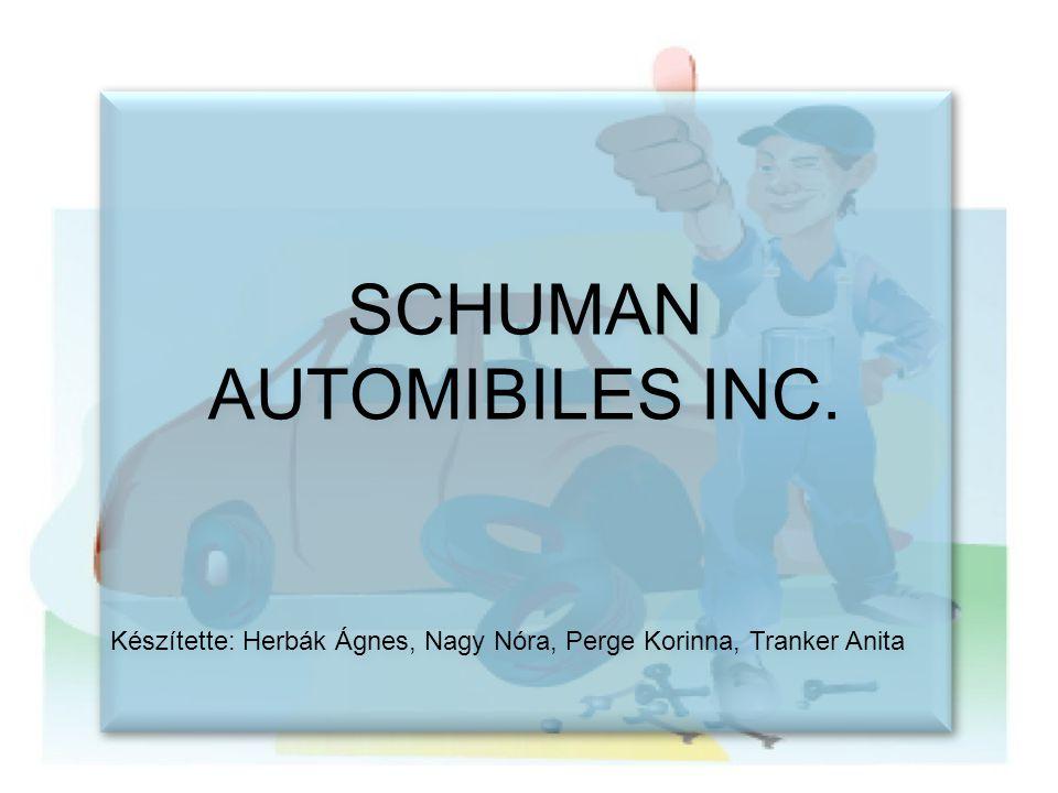 SCHUMAN AUTOMIBILES INC.