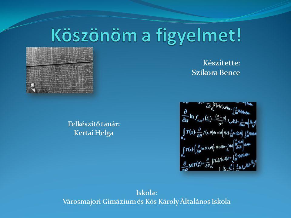 Városmajori Gimázium és Kós Károly Általános Iskola