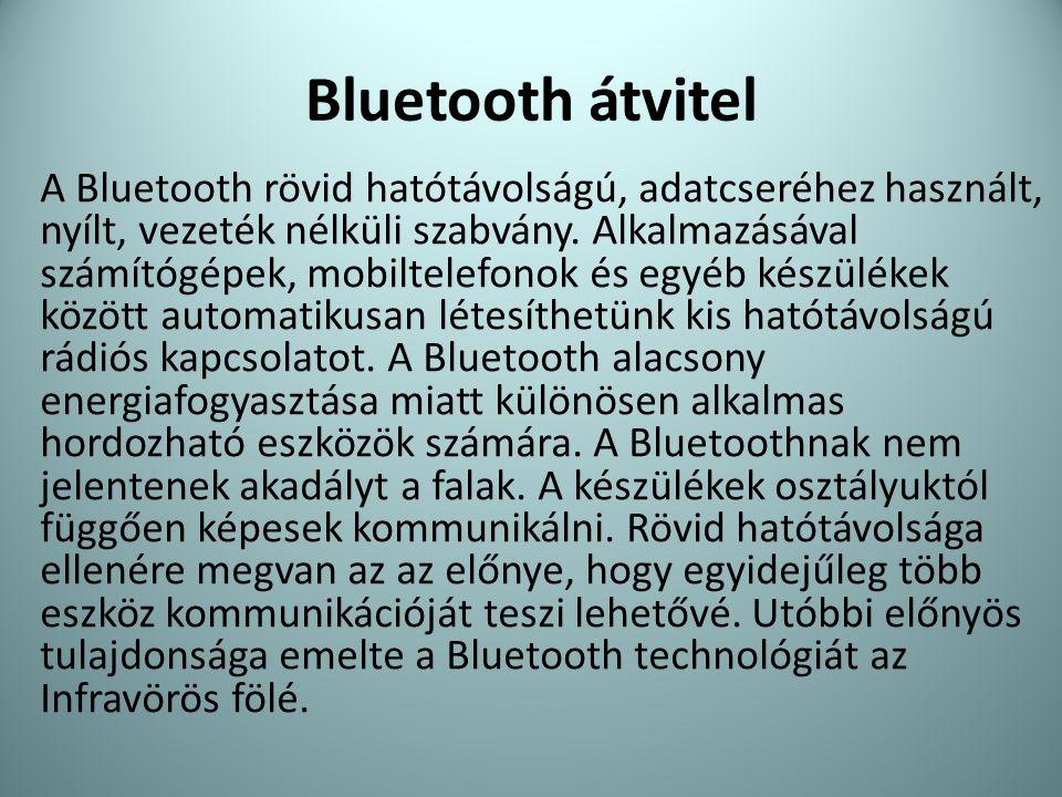 Bluetooth átvitel