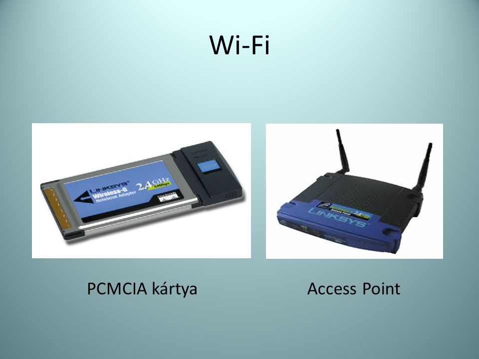 Wi-Fi PCMCIA kártya Access Point