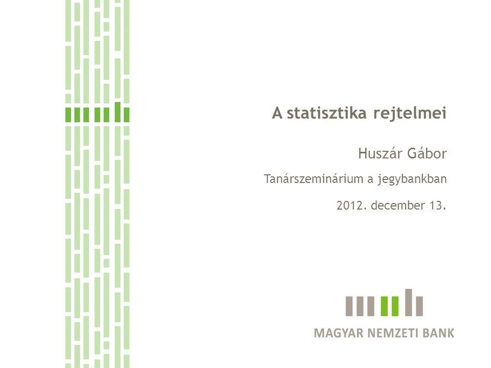 A statisztika rejtelmei