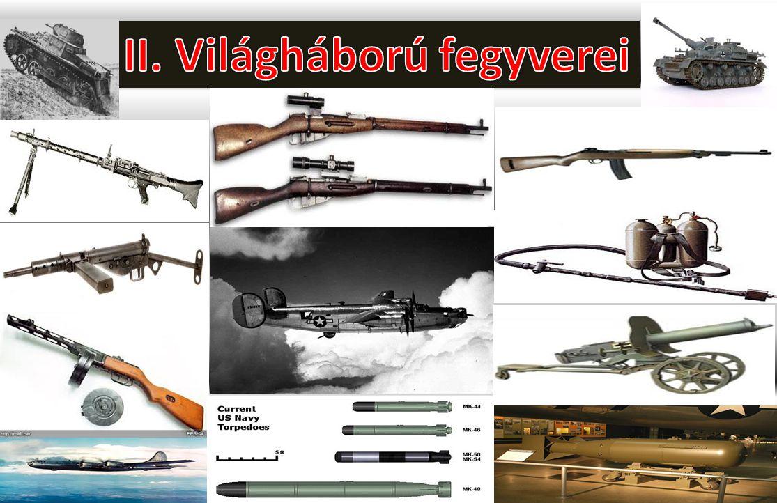 II. Világháború fegyverei