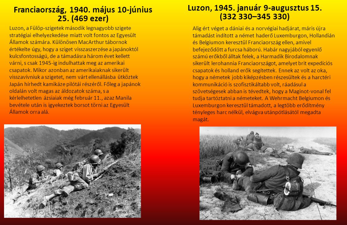 Luzon, 1945. január 9-augusztus 15. (332 330–345 330)