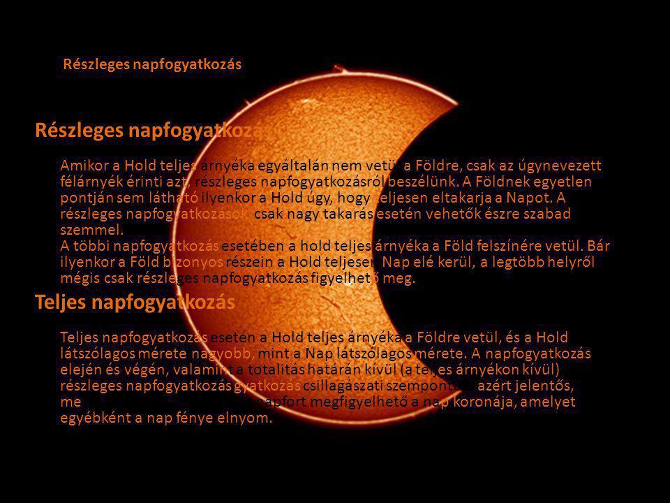 Részleges napfogyatkozás
