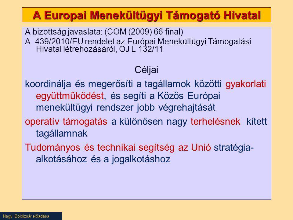 A Europai Menekültügyi Támogató Hivatal