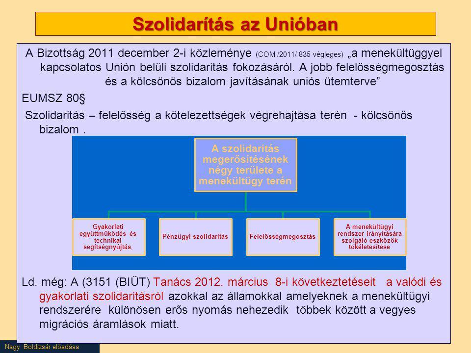 Szolidarítás az Unióban