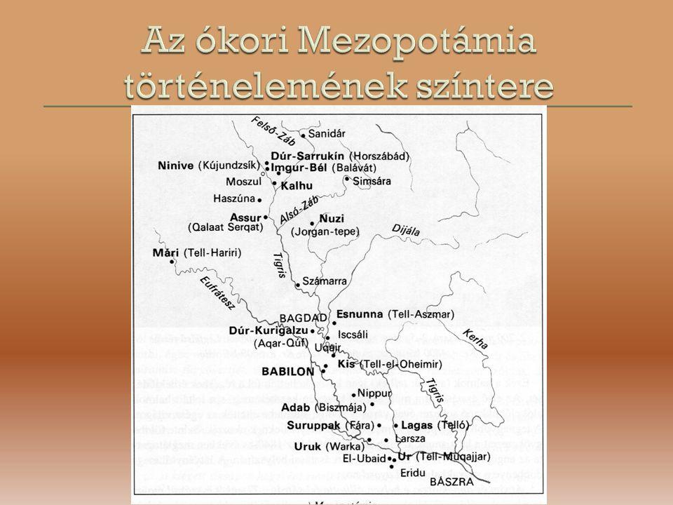 Az ókori Mezopotámia történelemének színtere