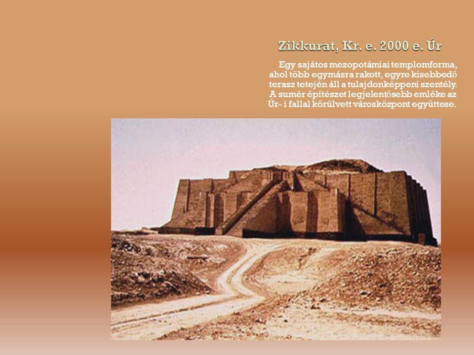Zikkurat, Kr. e. 2000 e. Úr