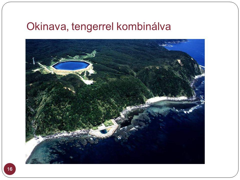 Okinava, tengerrel kombinálva