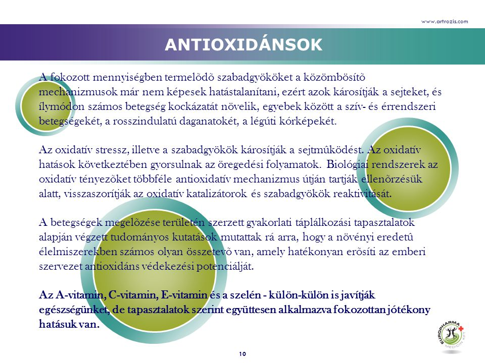 www.artrozis.com ANTIOXIDÁNSOK.