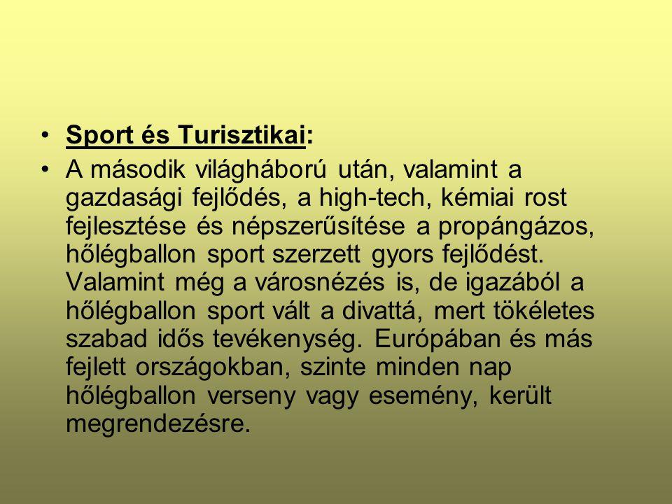 Sport és Turisztikai: