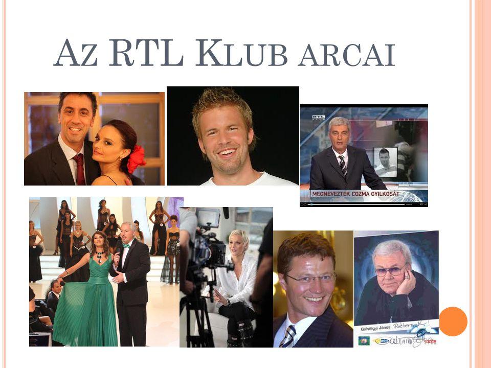 Az RTL Klub arcai