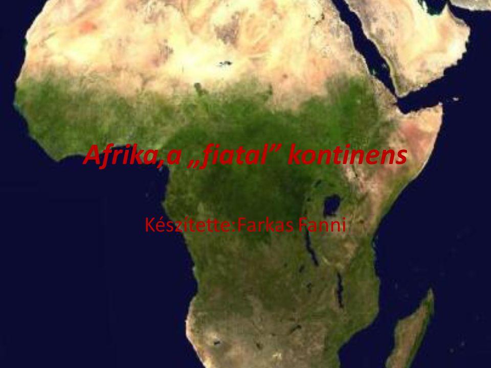 """Afrika,a """"fiatal kontinens"""