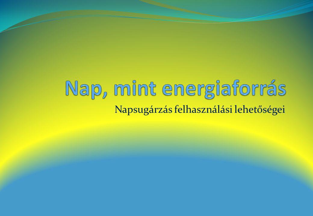 Nap, mint energiaforrás