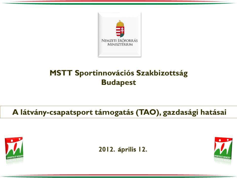 MSTT Sportinnovációs Szakbizottság Budapest