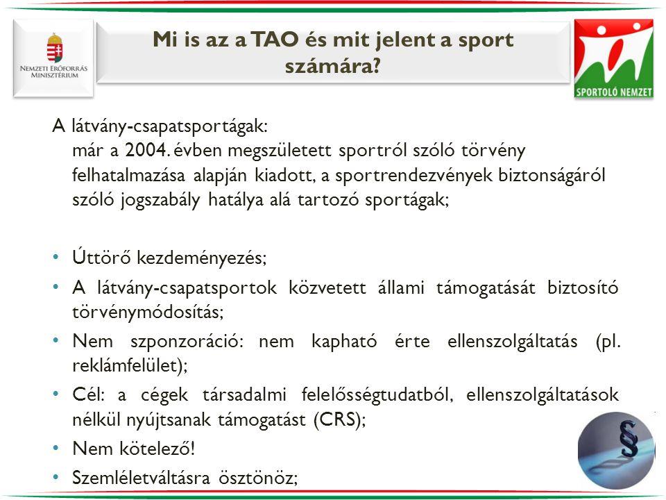 Mi is az a TAO és mit jelent a sport számára