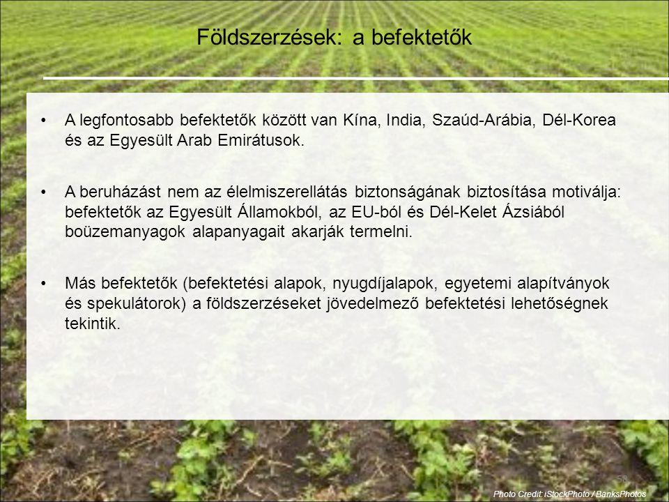 Földszerzések: a befektetők