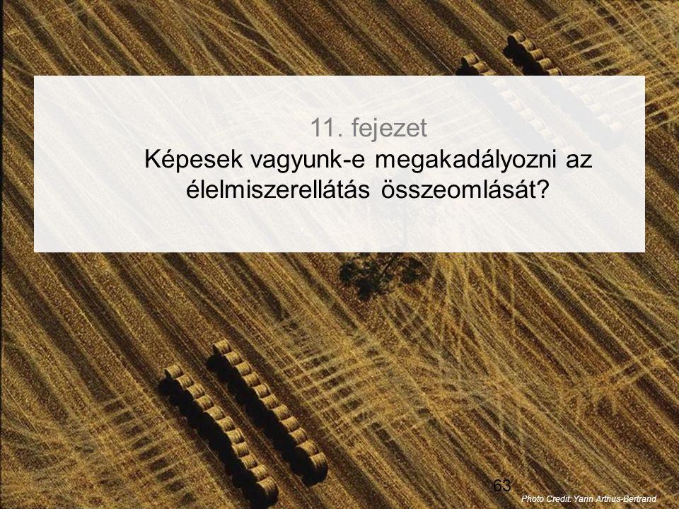 11. fejezet Képesek vagyunk-e megakadályozni az élelmiszerellátás összeomlását