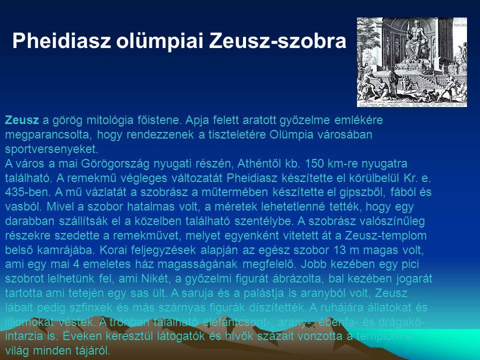 Pheidiasz olümpiai Zeusz-szobra