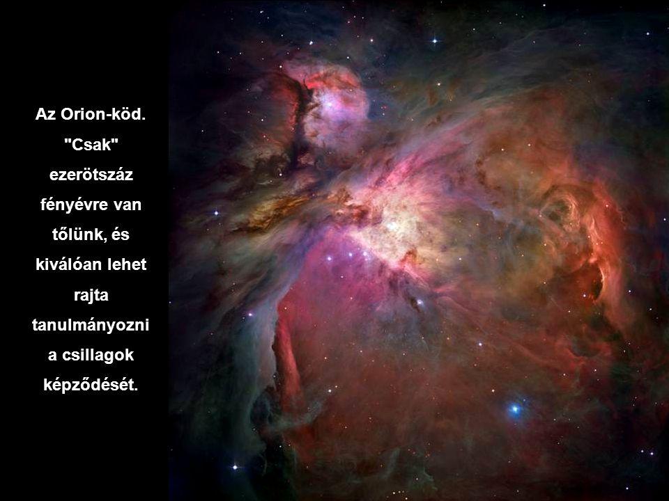 Az Orion-köd.