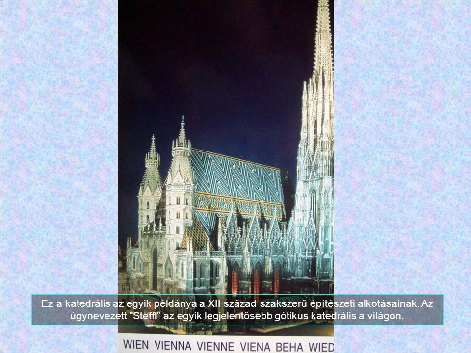 Ez a katedrális az egyik példánya a XII század szakszerű építészeti alkotásainak.
