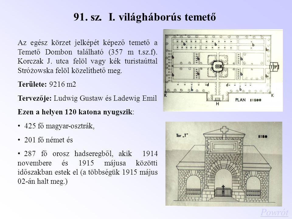 91. sz. I. világháborús temető