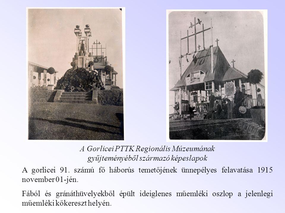 A Gorlicei PTTK Regionális Múzeumának gyűjteményéből származó képeslapok