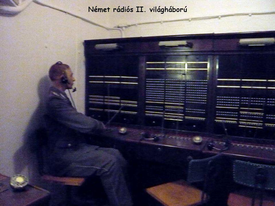 Német rádiós II. világháború