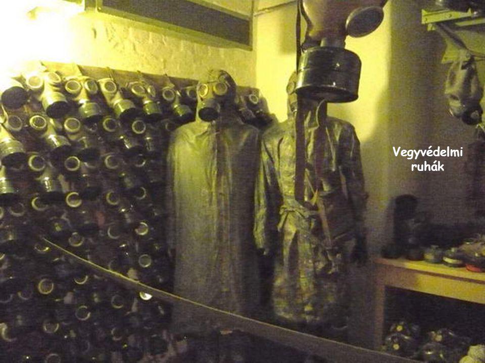Vegyvédelmi ruhák