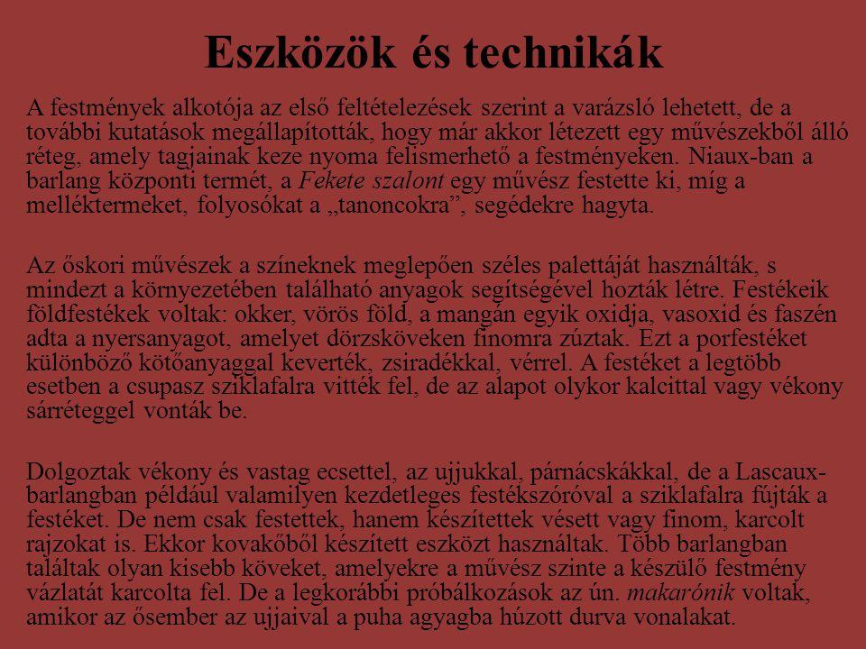 Eszközök és technikák
