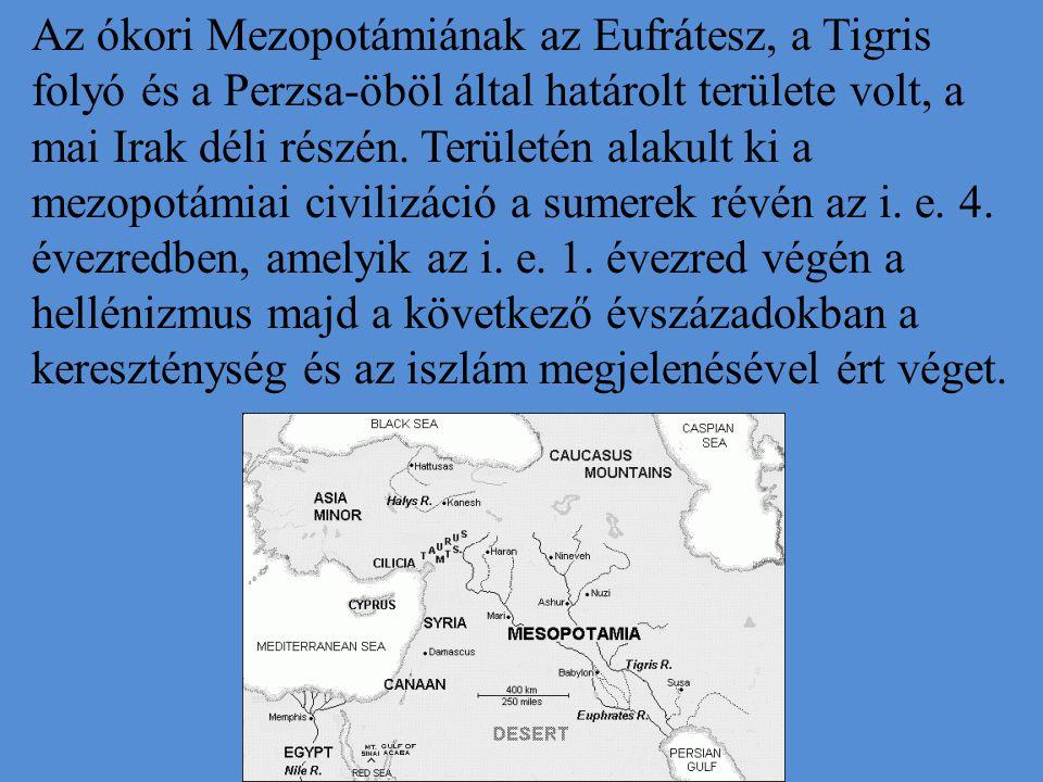 Az ókori Mezopotámiának az Eufrátesz, a Tigris folyó és a Perzsa-öböl által határolt területe volt, a mai Irak déli részén.
