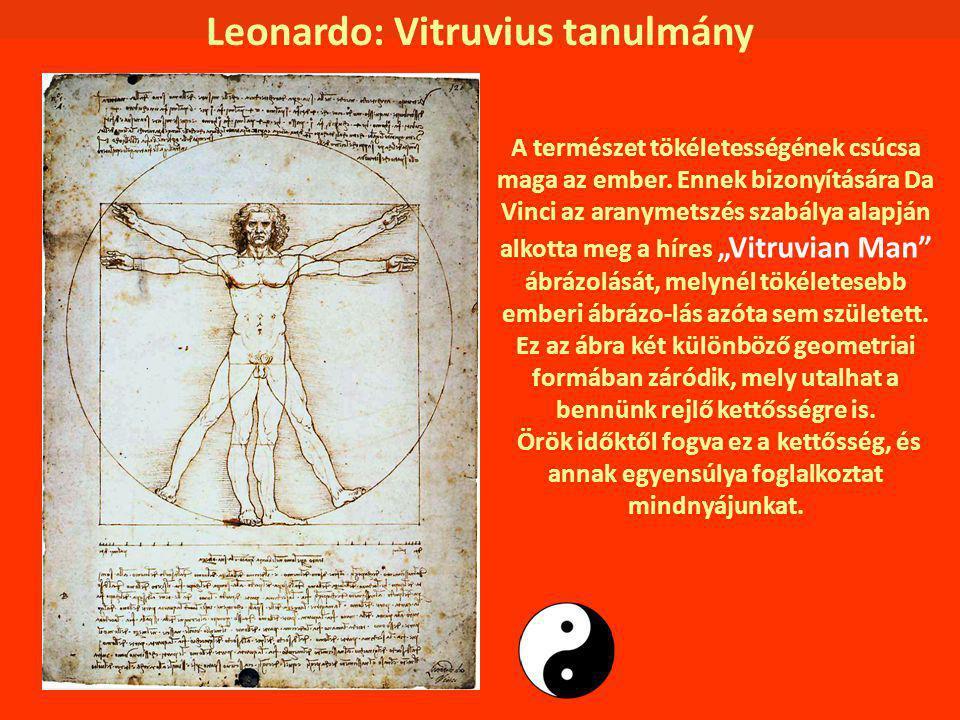 Leonardo: Vitruvius tanulmány