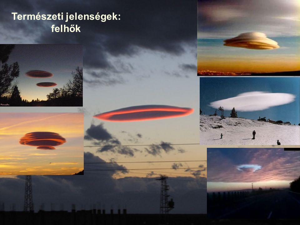 Természeti jelenségek: felhők