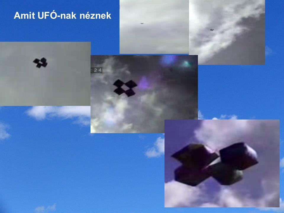 Amit UFÓ-nak néznek Egy hobbi a különleges alakú léggömbök, lufik eregetése.