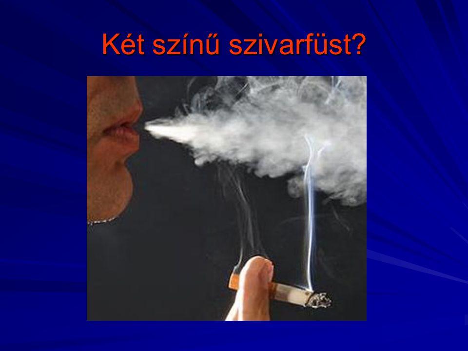 Két színű szivarfüst