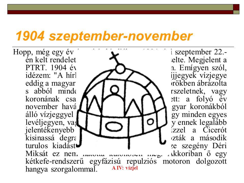 1904 szeptember-november