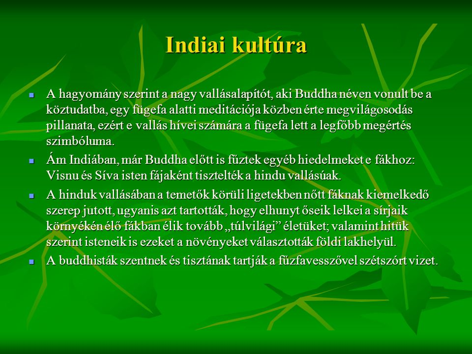 Indiai kultúra