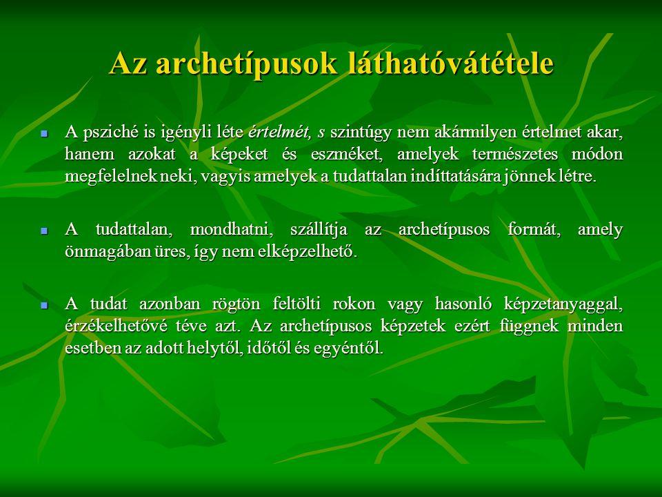 Az archetípusok láthatóvátétele