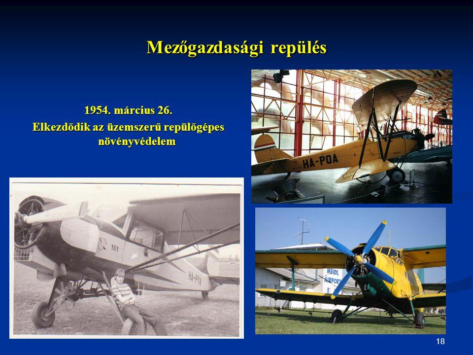 Mezőgazdasági repülés