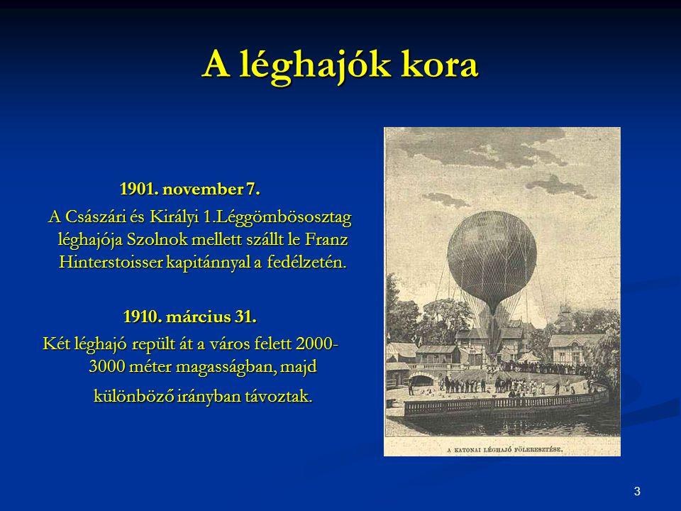 A léghajók kora 1901. november 7.