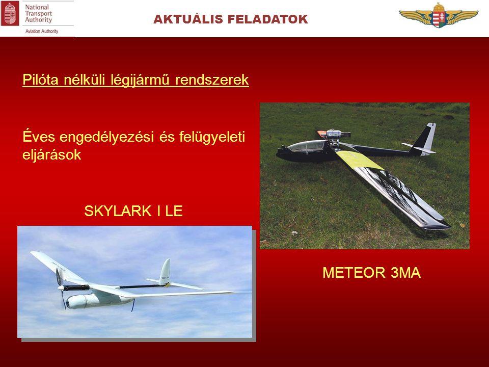 Pilóta nélküli légijármű rendszerek