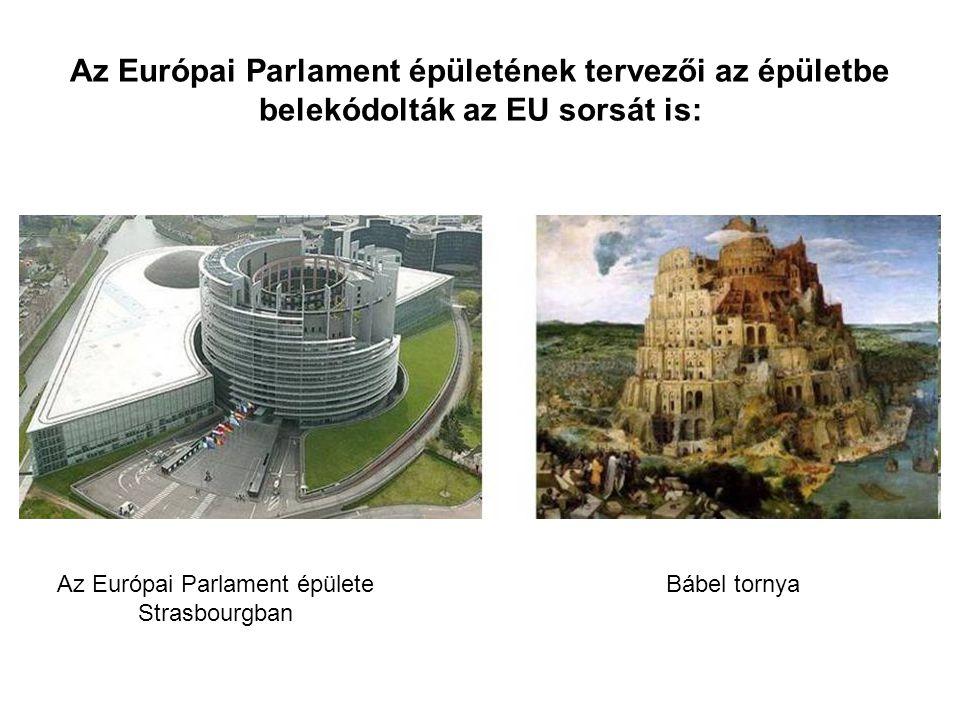 Az Európai Parlament épülete Strasbourgban