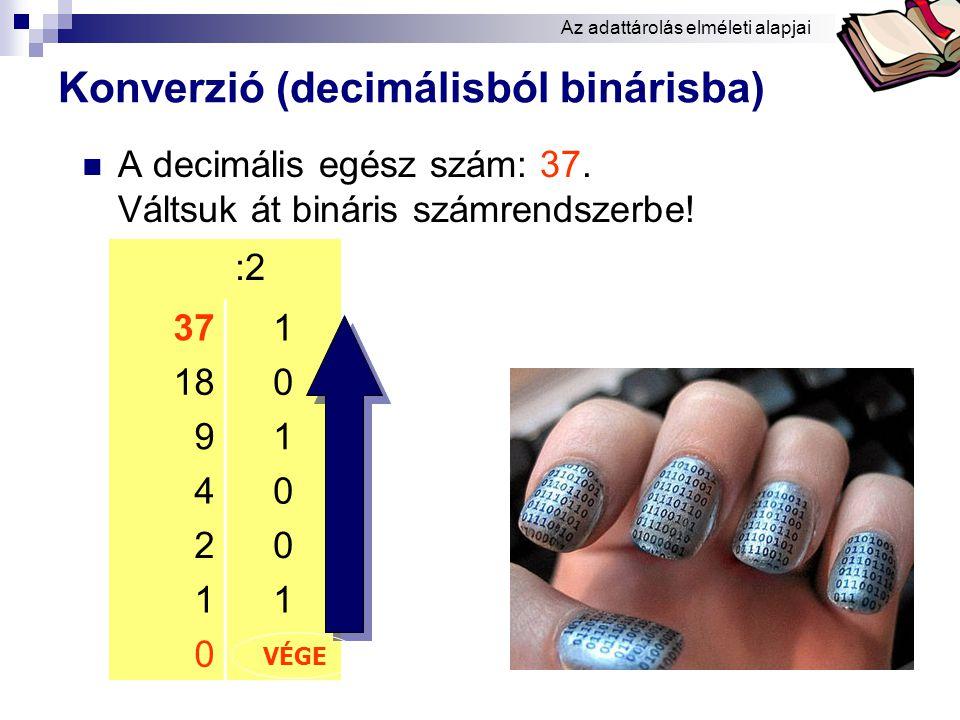Konverzió (decimálisból binárisba)