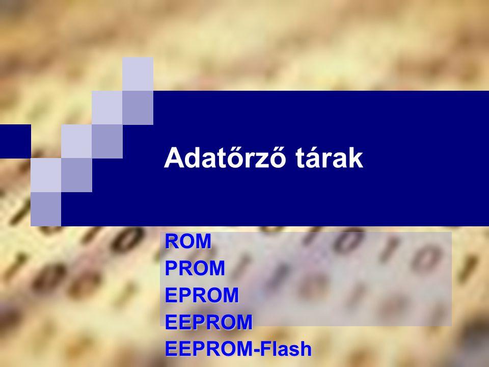 ROM PROM EPROM EEPROM EEPROM-Flash