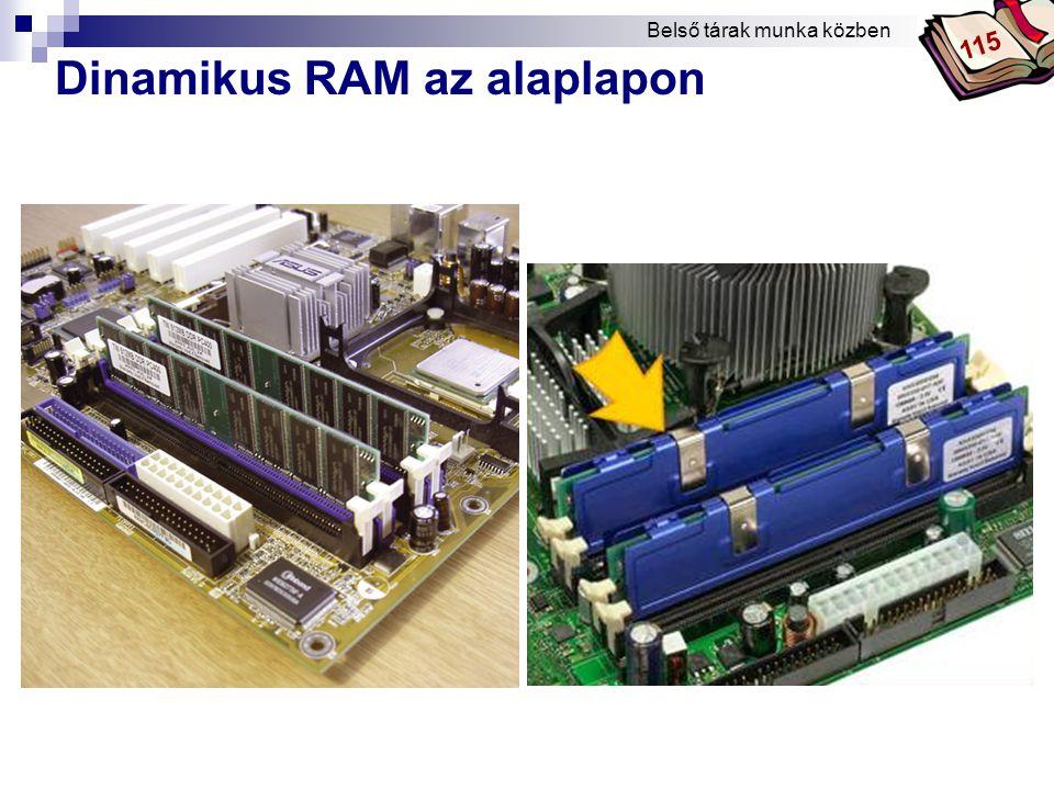 Dinamikus RAM az alaplapon