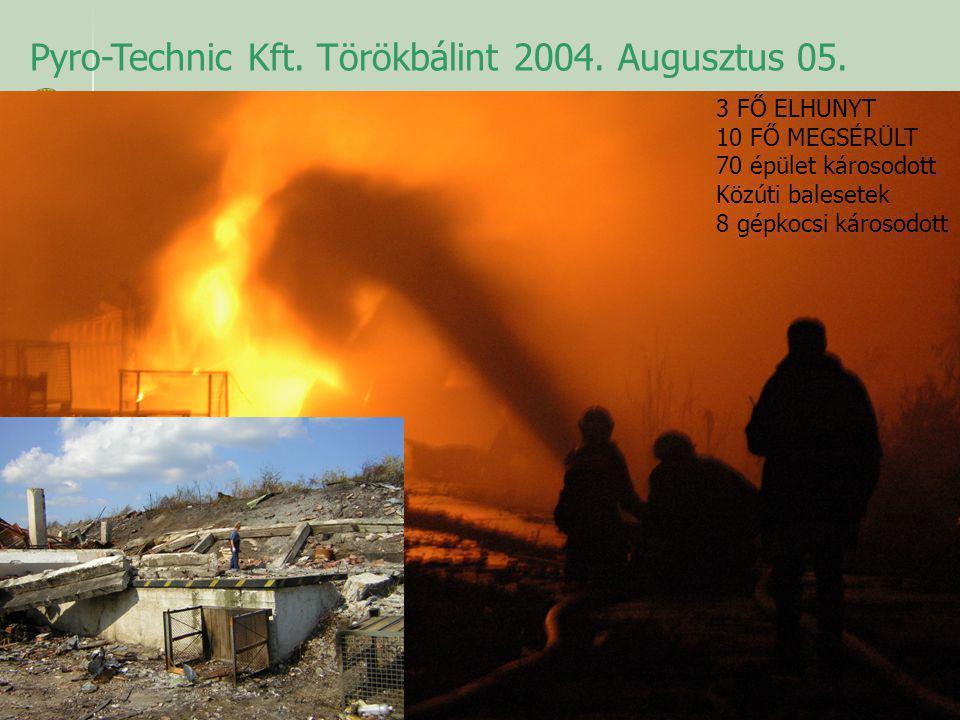Pyro-Technic Kft. Törökbálint 2004. Augusztus 05.