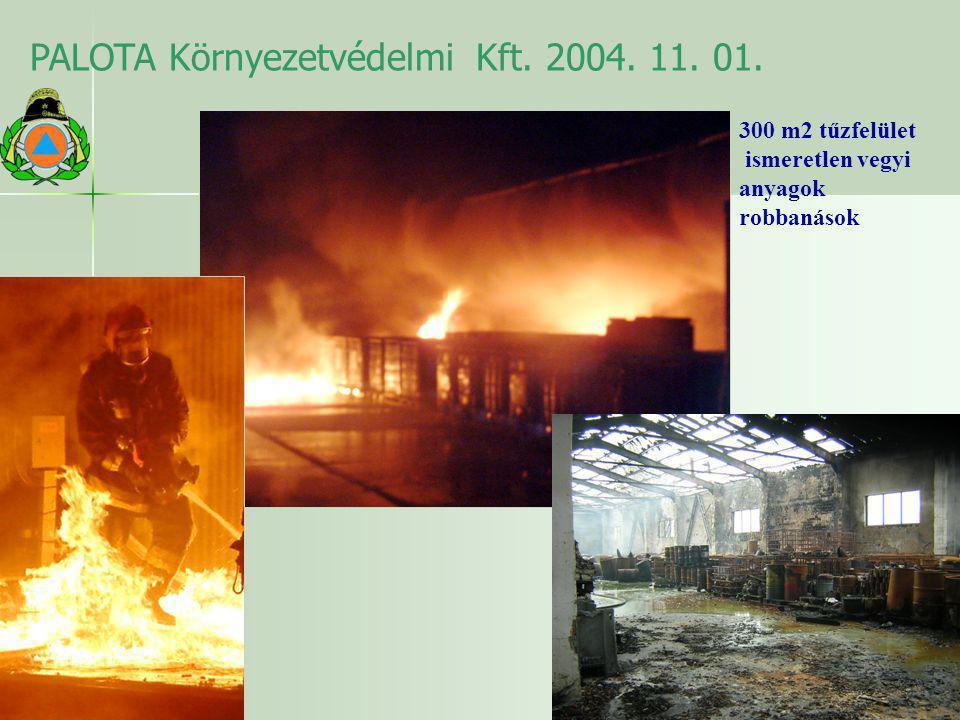PALOTA Környezetvédelmi Kft. 2004. 11. 01.