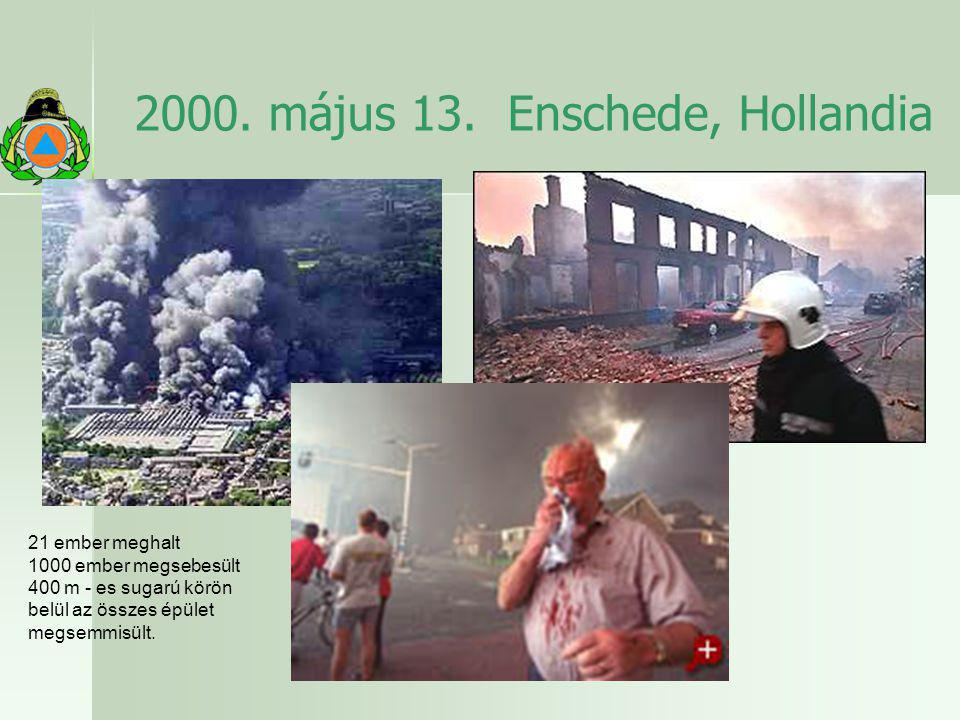 2000. május 13. Enschede, Hollandia