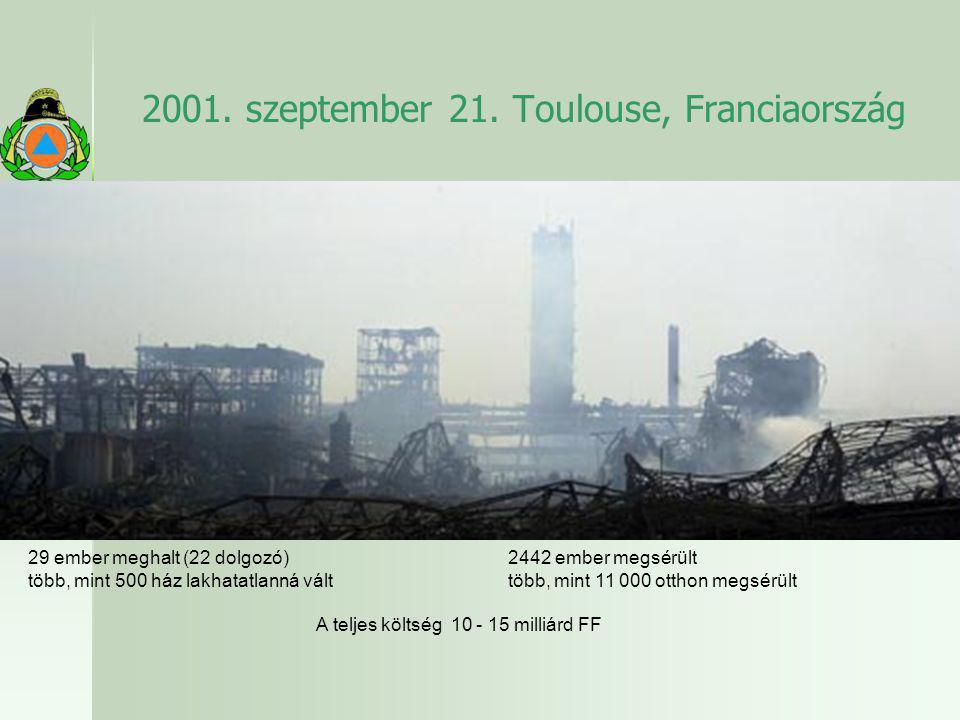 2001. szeptember 21. Toulouse, Franciaország