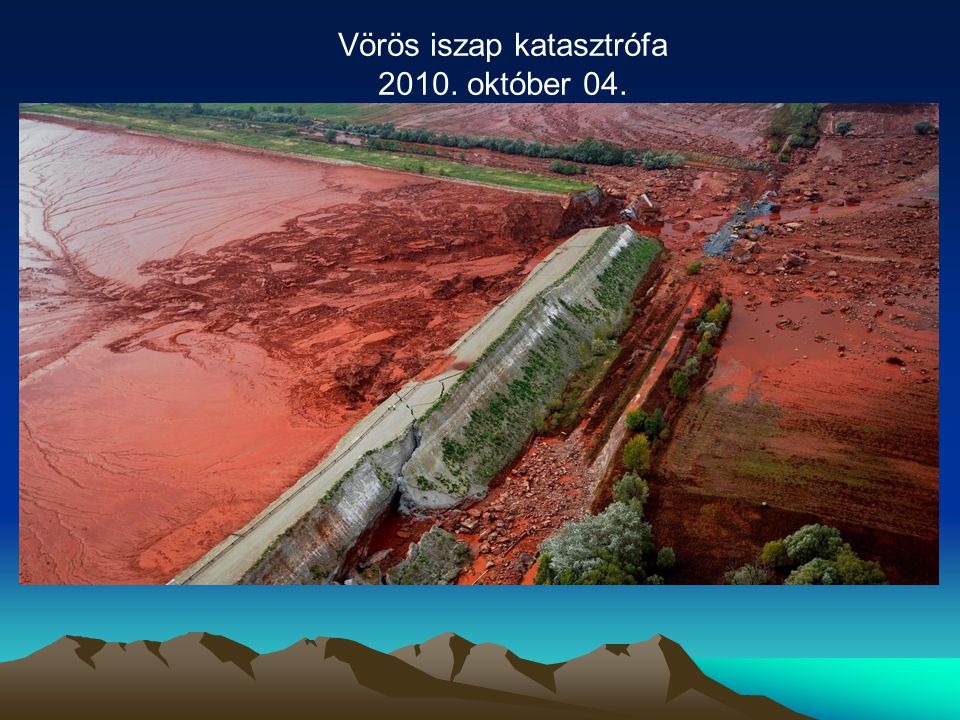 Vörös iszap katasztrófa